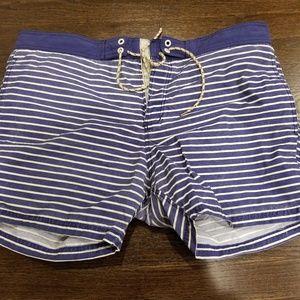 men's bathing suit trunk swim board short XL